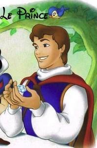 Disney world bon prince princesse roi et reine - Blanche neige et son prince ...