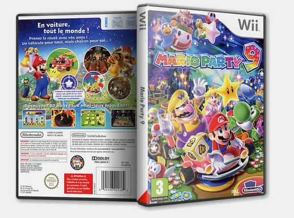 Mario Party 9 Wii Pal