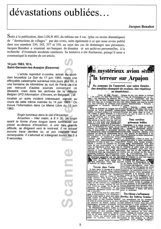 Saint Germain les Arpajon  - Le 14 Juin 1963 Fr09-30954e0